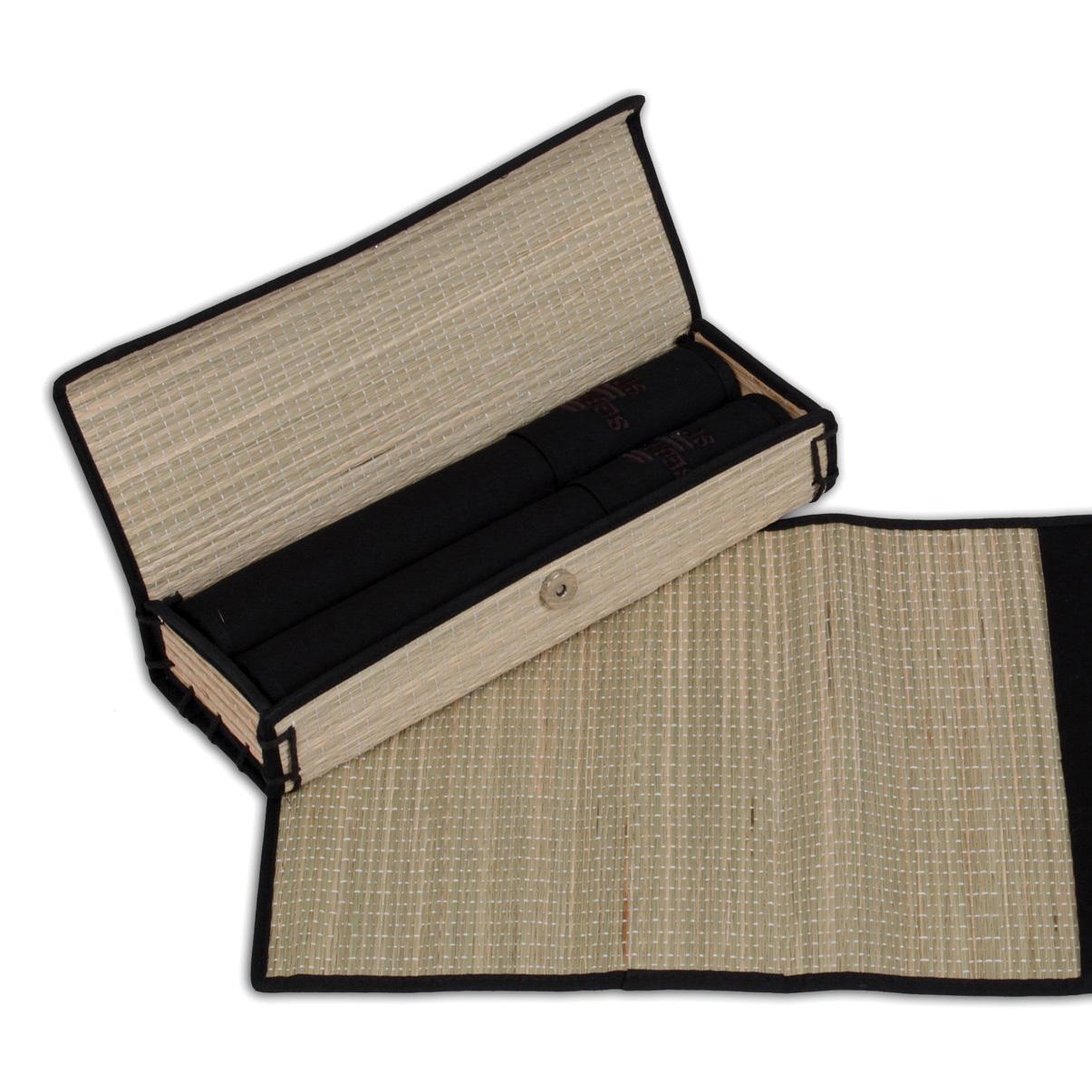 Kit caixa com jogo americano – Projeto Junco 2006