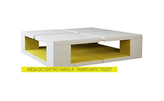Mesa de Centro Fabíola – Fabricante Tissot